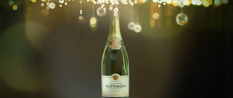 Botella de Taittinger