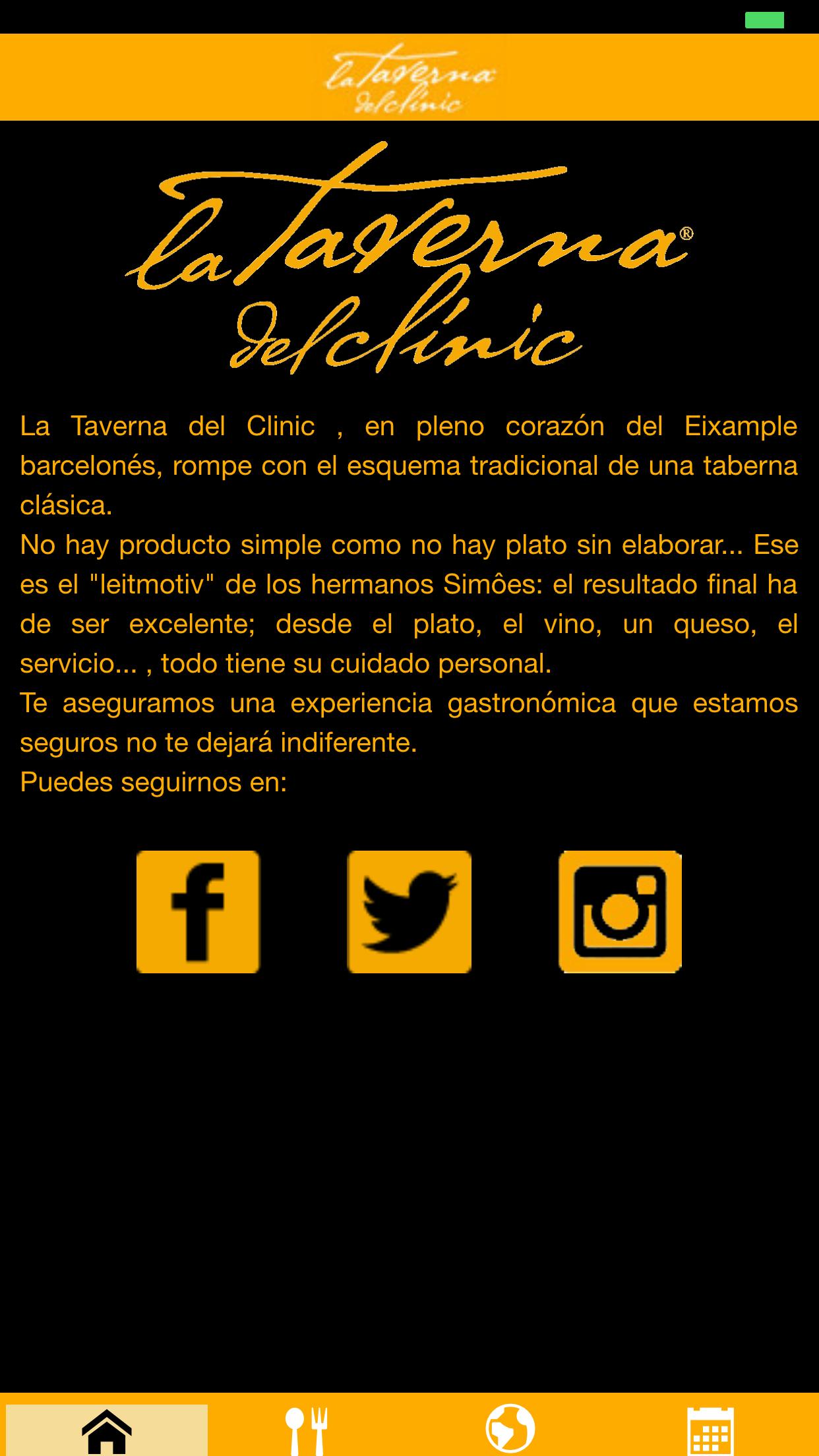 App La Taverna del Clínic