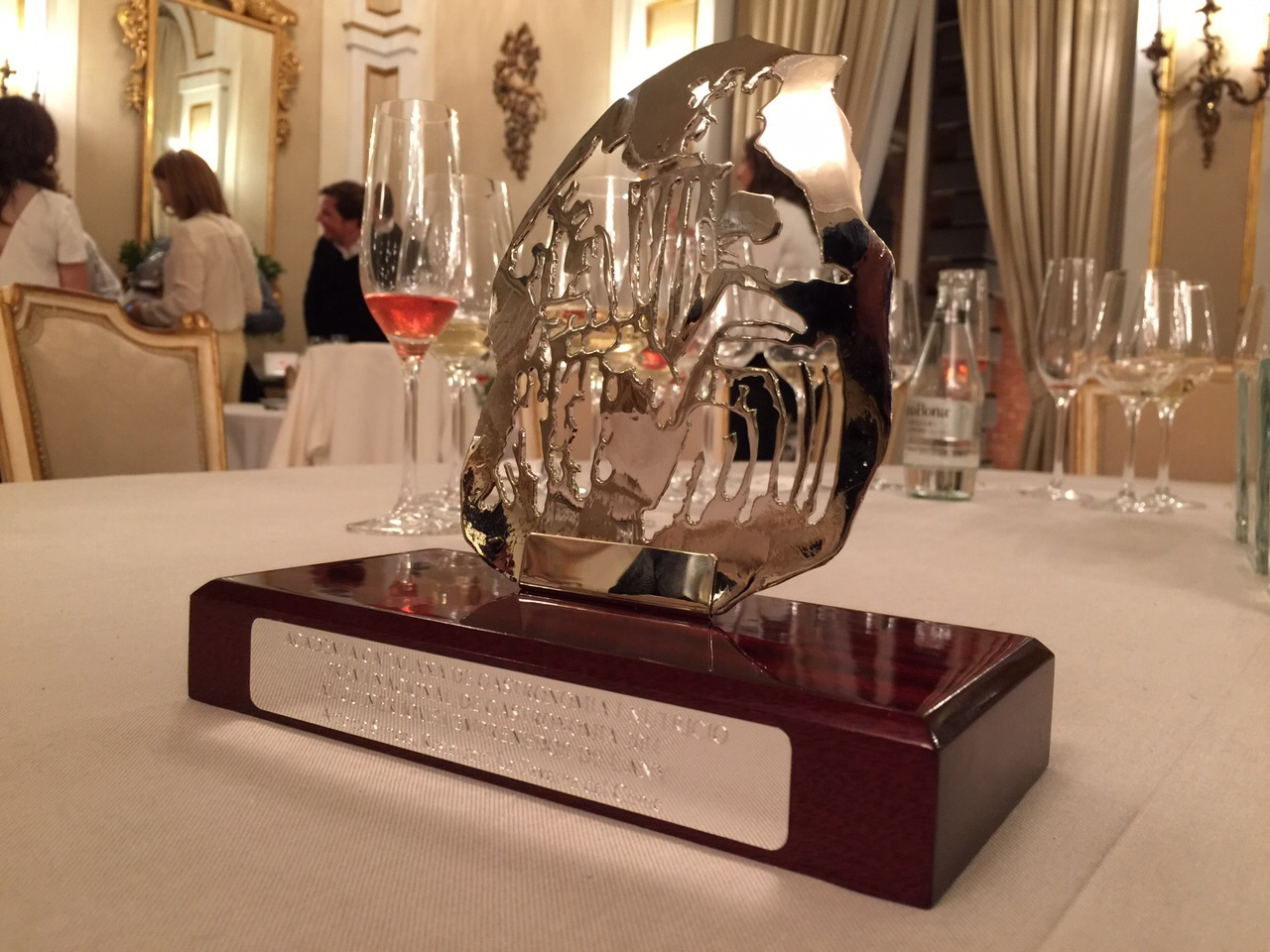Premio al #MejorCocineroJoven2014 para Antonio Simôes