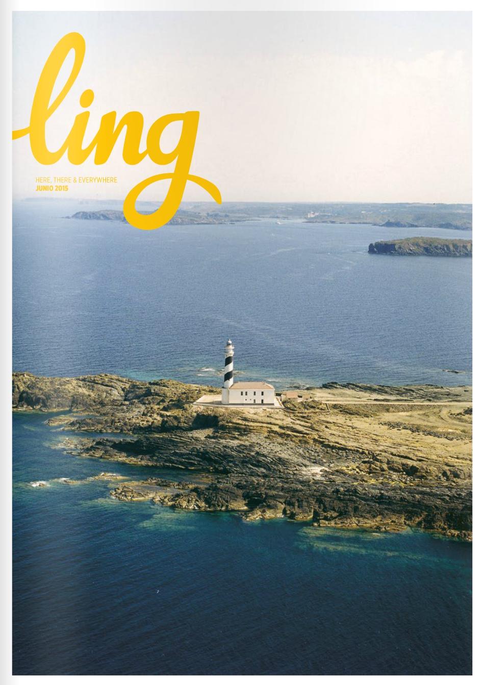 Portada Ling Magazine. Junio 2015